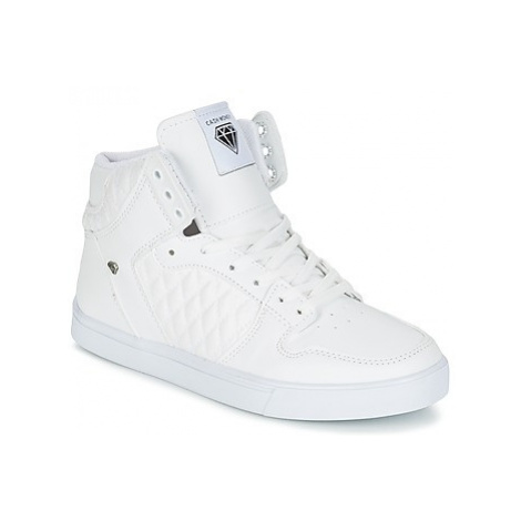 Cash Money JAILOR women's Shoes (High-top Trainers) in White