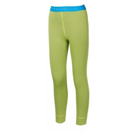 Progress MS SDND light green - Long kids' tights