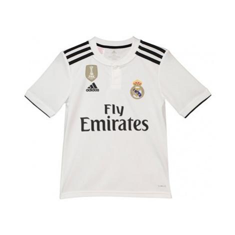 Real Madrid Home Shirt 2018-19 - Kids Adidas