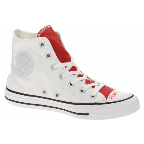 shoes Converse Chuck Taylor All Star Love Fearlessly Hi - 567310/White/University Red/Black - wo