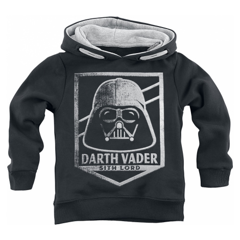 Star Wars - Darth Vader - Sith Lord - Kids Hooded Sweater - black