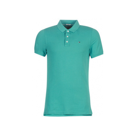 Tommy Jeans TJM ESSENTIAL POLO men's Polo shirt in Green Tommy Hilfiger