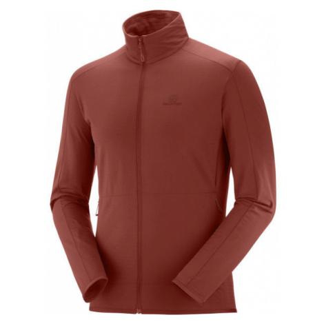 Salomon OUTRACK FULL ZIP MID M - Men's sweatshirt