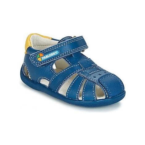 Pablosky NEDURE boys's Children's Sandals in Blue