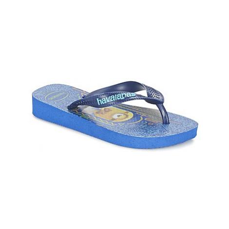Havaianas MINIONS boys's Children's Flip flops / Sandals in Blue