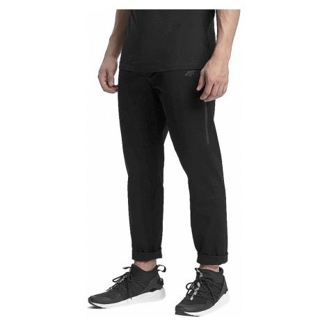 pants 4F H4Z19-SPMC070 - 20S/Deep Black - men´s