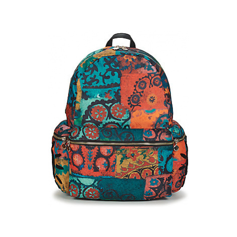 Desigual ETHNIC SHIVA OSS women's Backpack in Blue