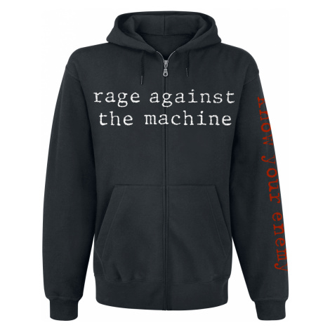 Rage Against The Machine - Know Your Enemy - Hooded zip - black