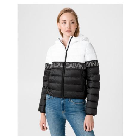 Calvin Klein Jacket Black White