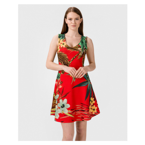 Desigual Hawaiian Dress Red