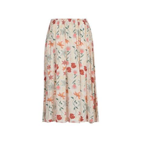 Les Petites Bombes AZITAPE women's Skirt in Beige