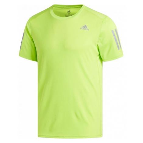 adidas RESPONSE TEE yellow - Men's running T-shirt