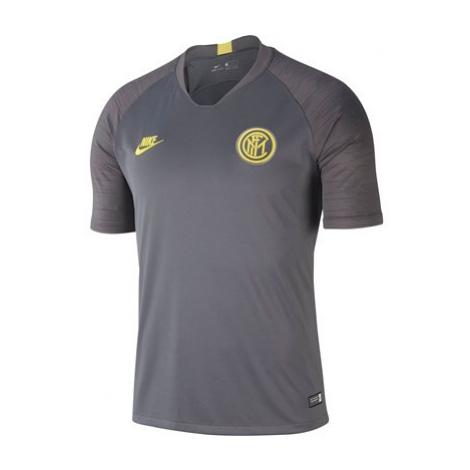 Inter Milan Nike Breathe Strike Top Short Sleeve - Mens