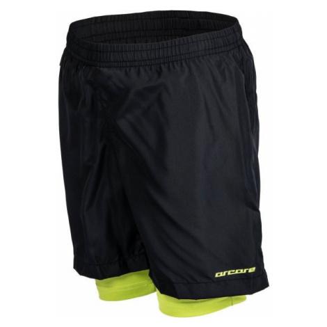 Arcore GLOIN green - Kids' running shorts