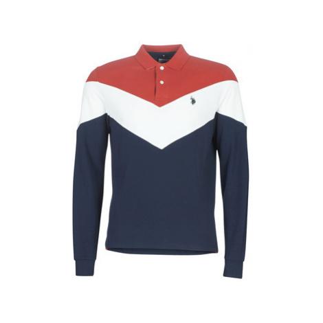 U.S Polo Assn. SVEIN POLO men's Polo shirt in Blue U.S. Polo Assn