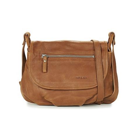 Nat et Nin JEN women's Shoulder Bag in Brown Nat & Nin