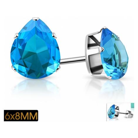 earrings Body Art XRY635 - Aqua