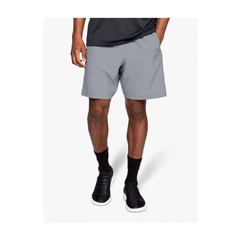 Under Armour 8 Woven Graphic Training Shorts, Steel/Black