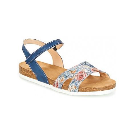 Think ZIFUDEKE women's Sandals in Blue