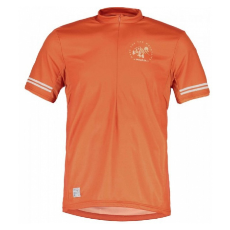Maloja DOMENICA M. ALL MOUNTAIN orange - Short sleeve jersey