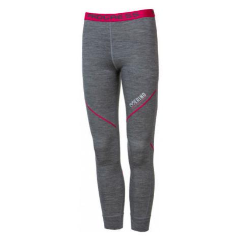 Progress MERINO LT-G - Girls' functional tights with merino wool