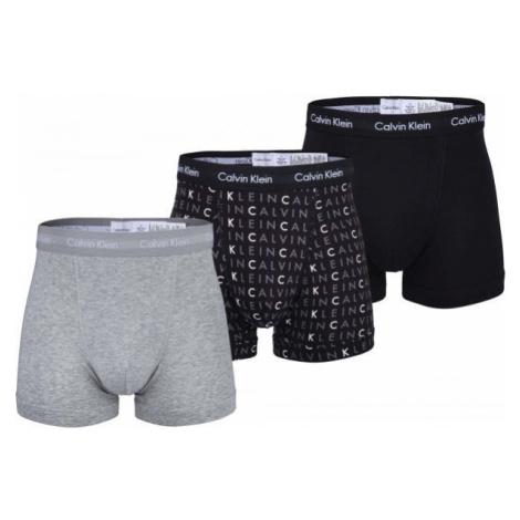 Calvin Klein 3P TRUNK grey - Men's boxer briefs