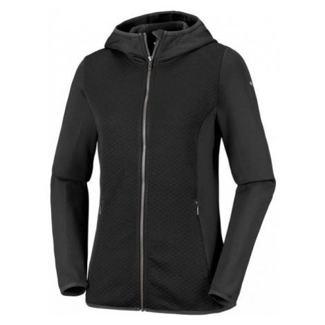 Columbia ROFFE RIDGE FULL ZIP HOODED black - Women's jacket
