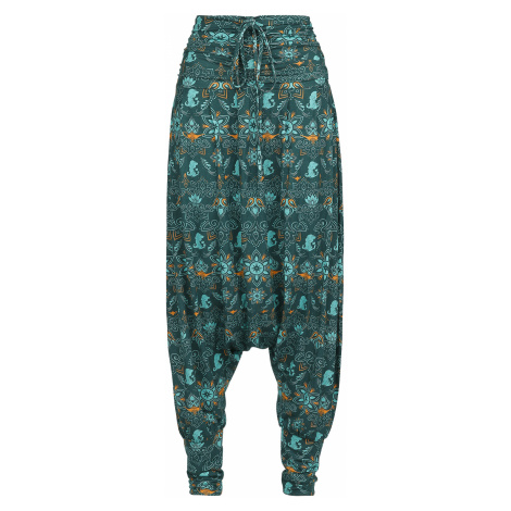 Aladdin - Arabian Nights - Girls trousers - green/dark green