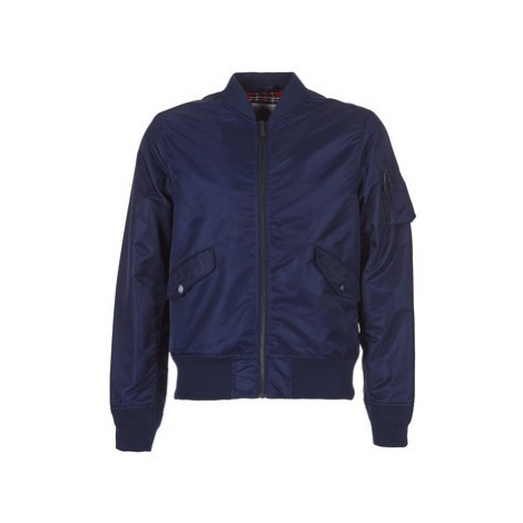 Harrington BOMBER MA1 men's Jacket in Blue