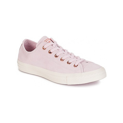 Converse Chuck Taylor All Star-Ox women's Shoes (Trainers) in Pink