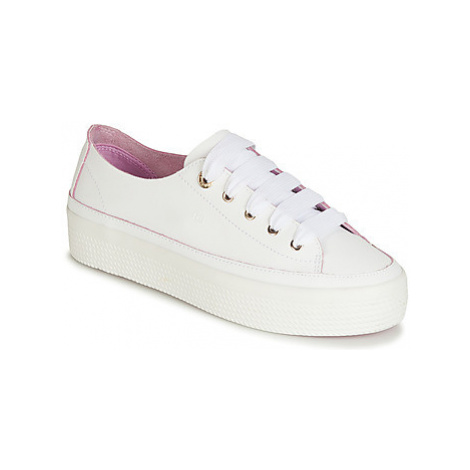 Tommy Hilfiger KELSEY 1A women's Shoes (Trainers) in White
