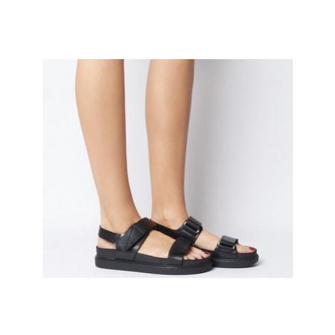 Vagabond Erin Two Strap Sandal BLACK