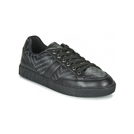 Versace Jeans Couture EOYUBSF6 men's Shoes (Trainers) in Black