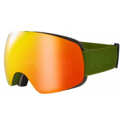Head GLOBE FMR dark green - Ski goggles
