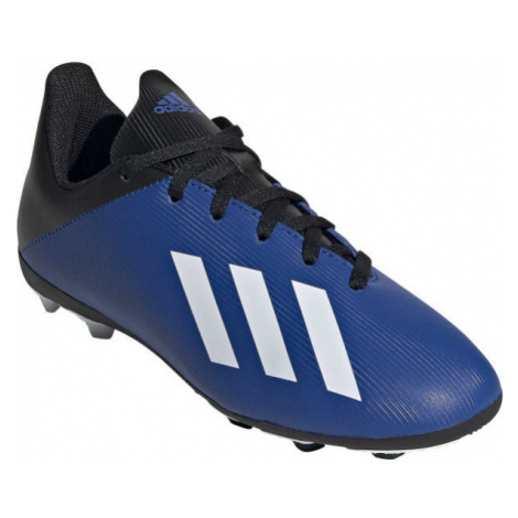adidas X 19.4 FXG J blue - Kids' football shoes