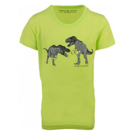 ALPINE PRO TADO light green - Children's T-shirt