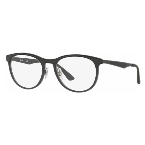 Ray-Ban Rb7116 Man Optical Lenses: Multicolor, Frame: Black - RB7116 5196 53-19