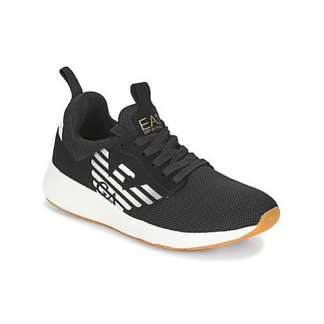 Emporio Armani EA7 FUSION RACER men's Shoes (Trainers) in Black