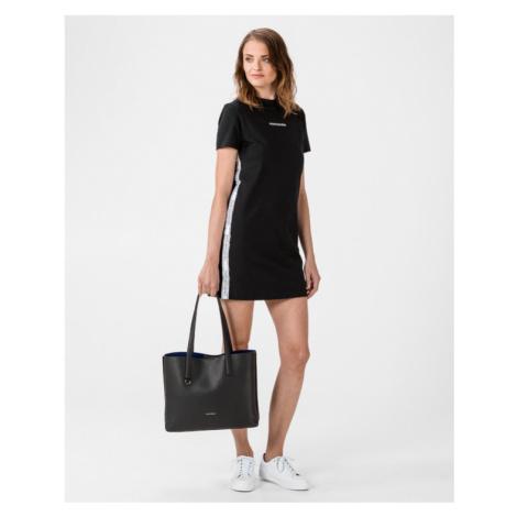 Calvin Klein Side Tape Dress Black