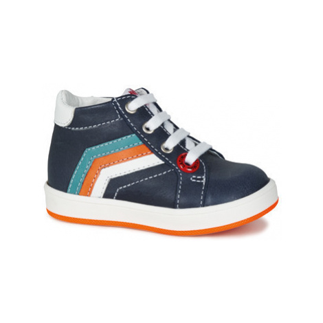 Catimini POSO boys's Children's Shoes (High-top Trainers) in Blue