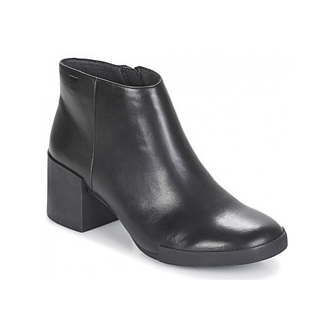 Camper LOTTA women's Low Ankle Boots in Black