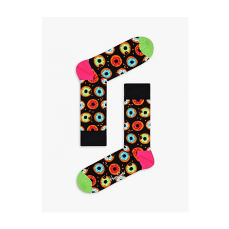 Happy Socks Doughnut Socks, One Size, Black