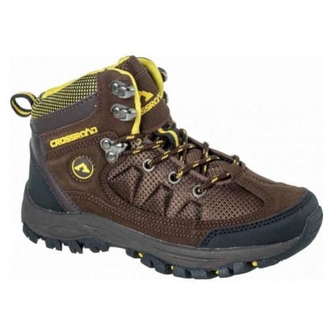 Crossroad DHUS brown - Kids' trekking shoes