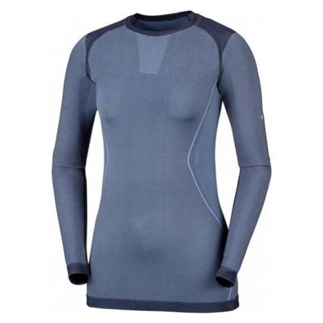 Columbia SEAMLESS LS CREW blue - Women's functional T-shirt