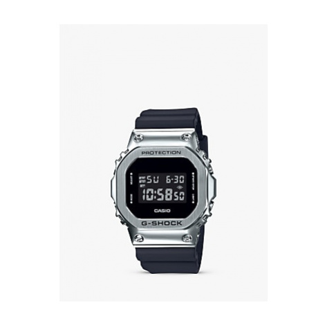 Casio GM-5600-1ER Men's G-Shock Digital Resin Strap Watch, Black