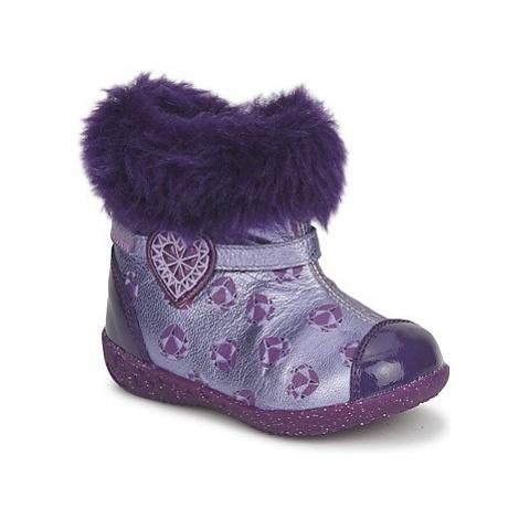 Agatha Ruiz de la Prada BABY SWEET PRINCESS girls's Children's Shoes (High-top Trainers) in Purp