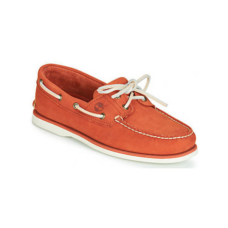 Timberland CLASSIC BOAT 2 EYE men's Boat Shoes in Brown