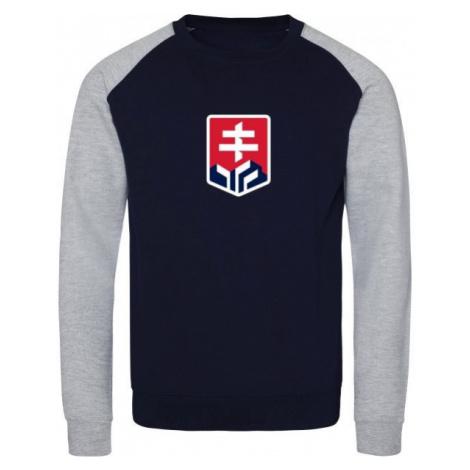 Střída BASIC LOGO SVK dark blue - Men's hoodie