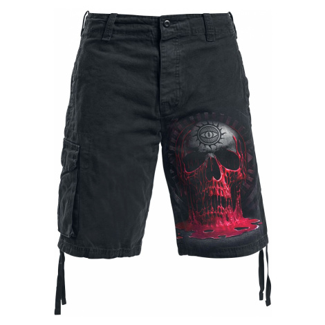Spiral Bleeding Souls Shorts black