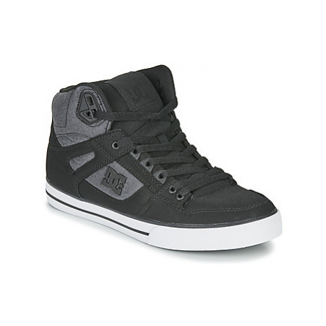 DC Shoes PURE HIGH-TOP WC TX SE men's Shoes (High-top Trainers) in Black